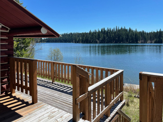 Rare Lakefront Property with 2 Cabins in the Heart of the Fishing Highway - Fawn Lake
