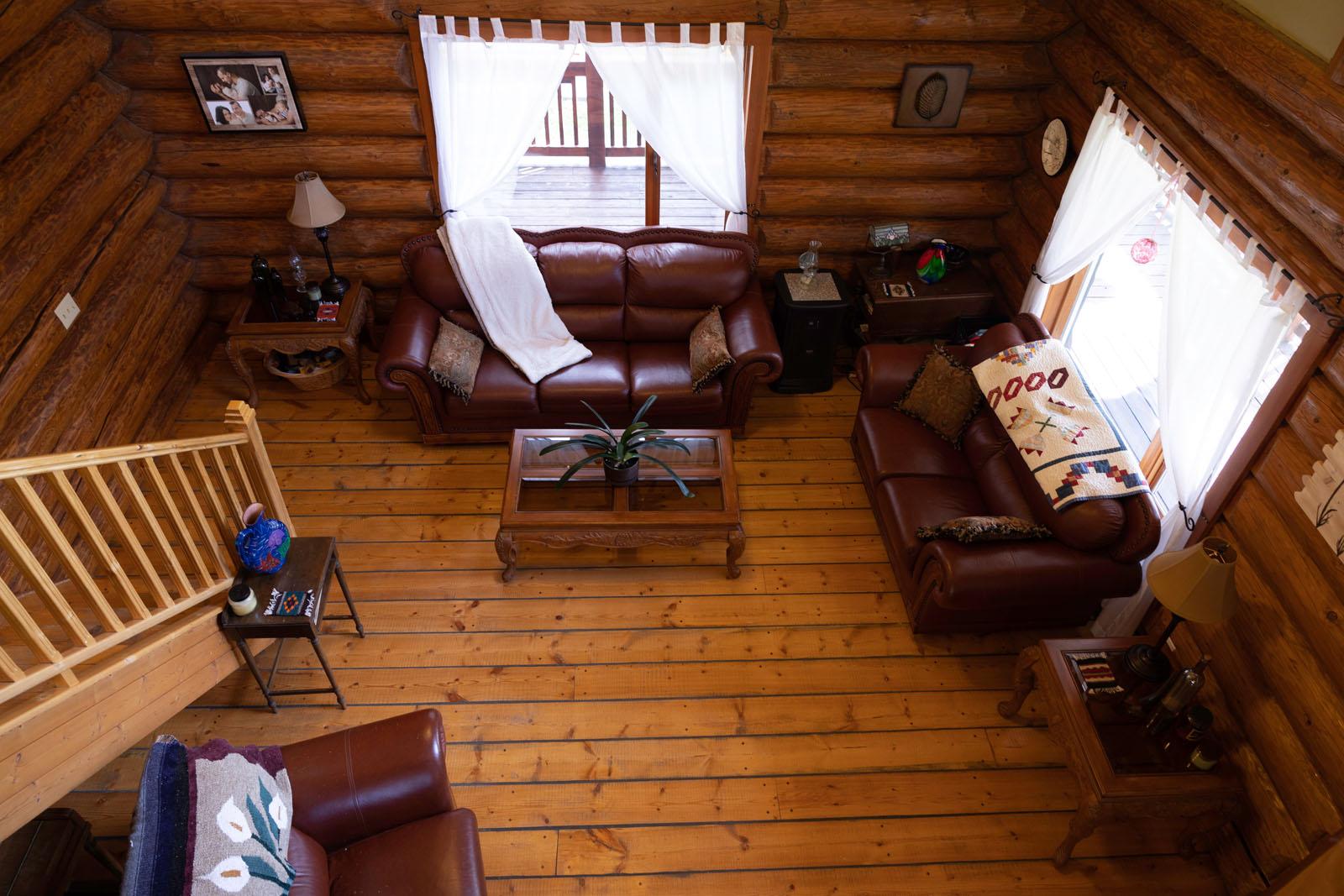 Mcbride log home 28