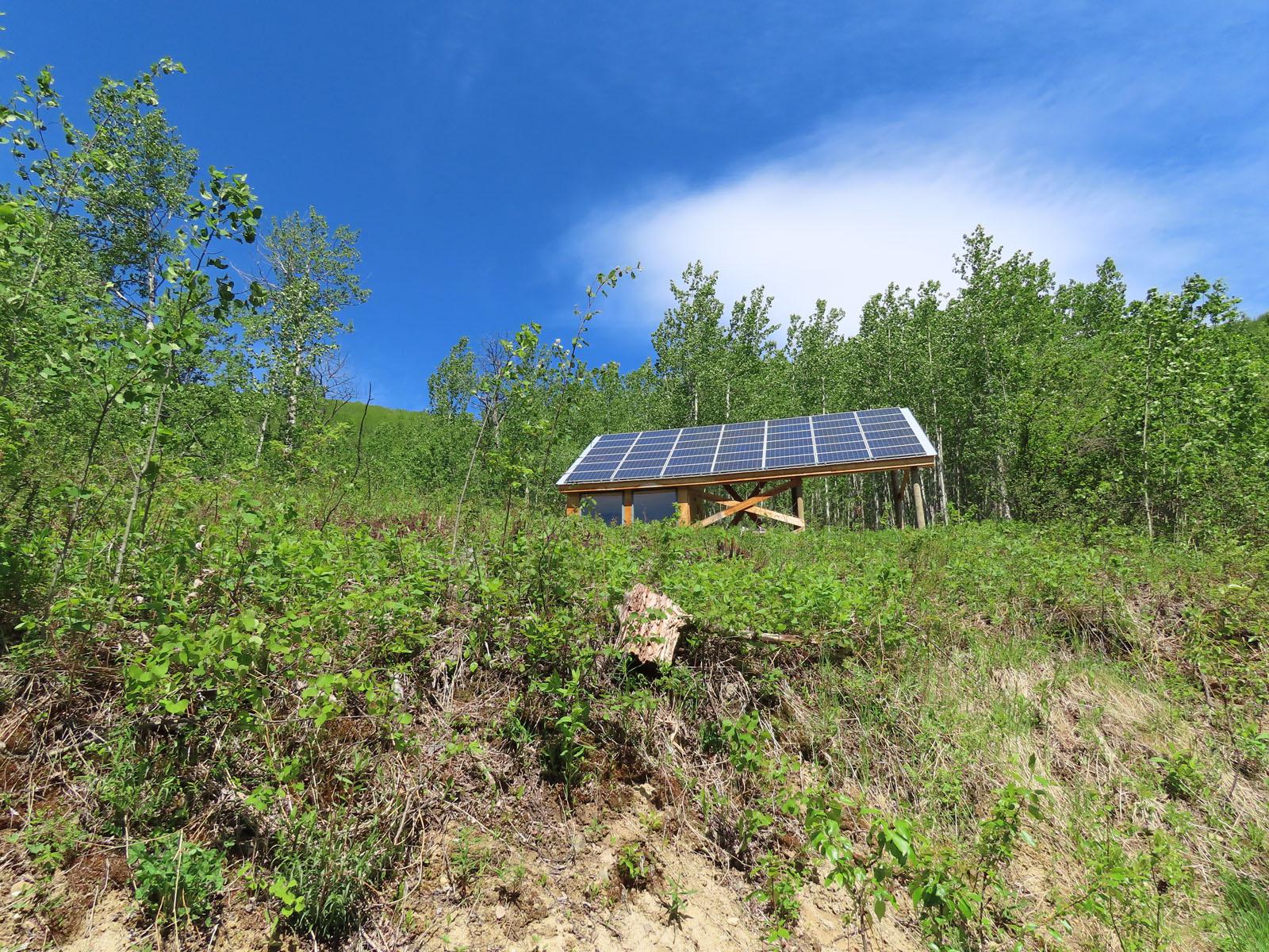 Moberly lake cabin 34