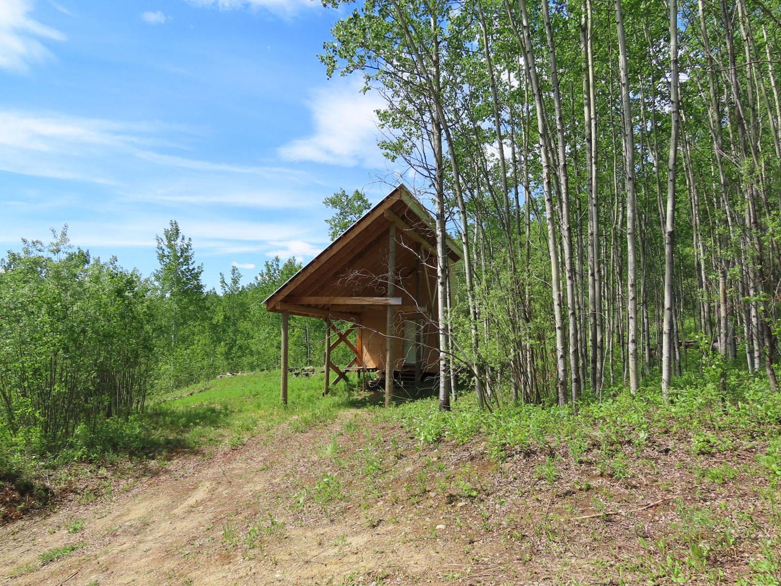 Moberly lake cabin 36