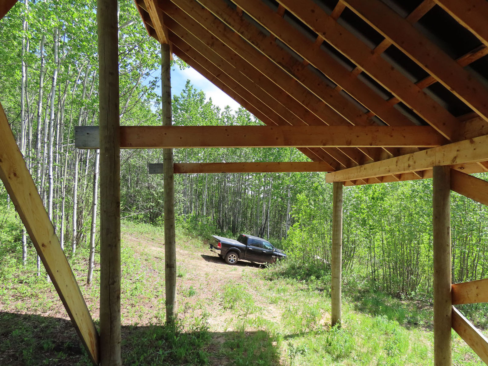 Moberly lake cabin 43