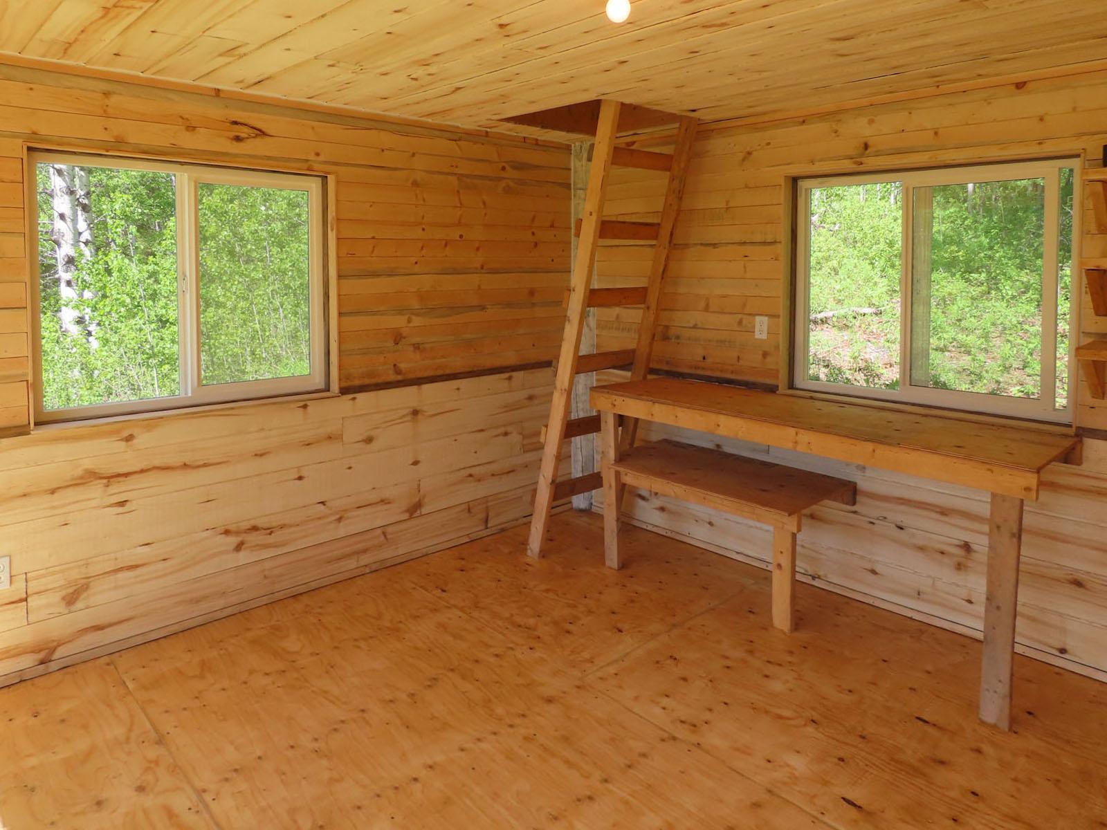 Moberly lake cabin 50