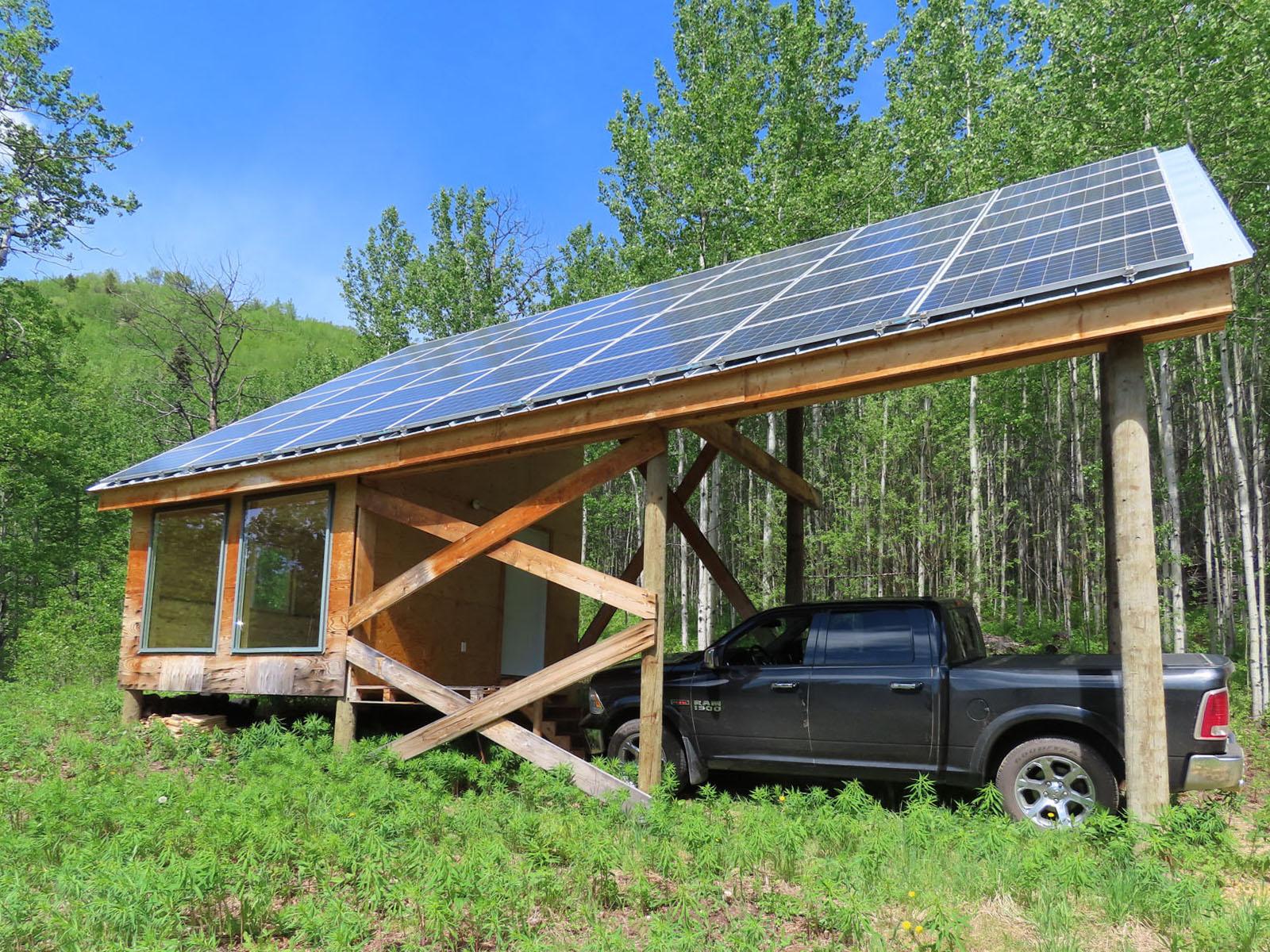 Moberly lake cabin 59