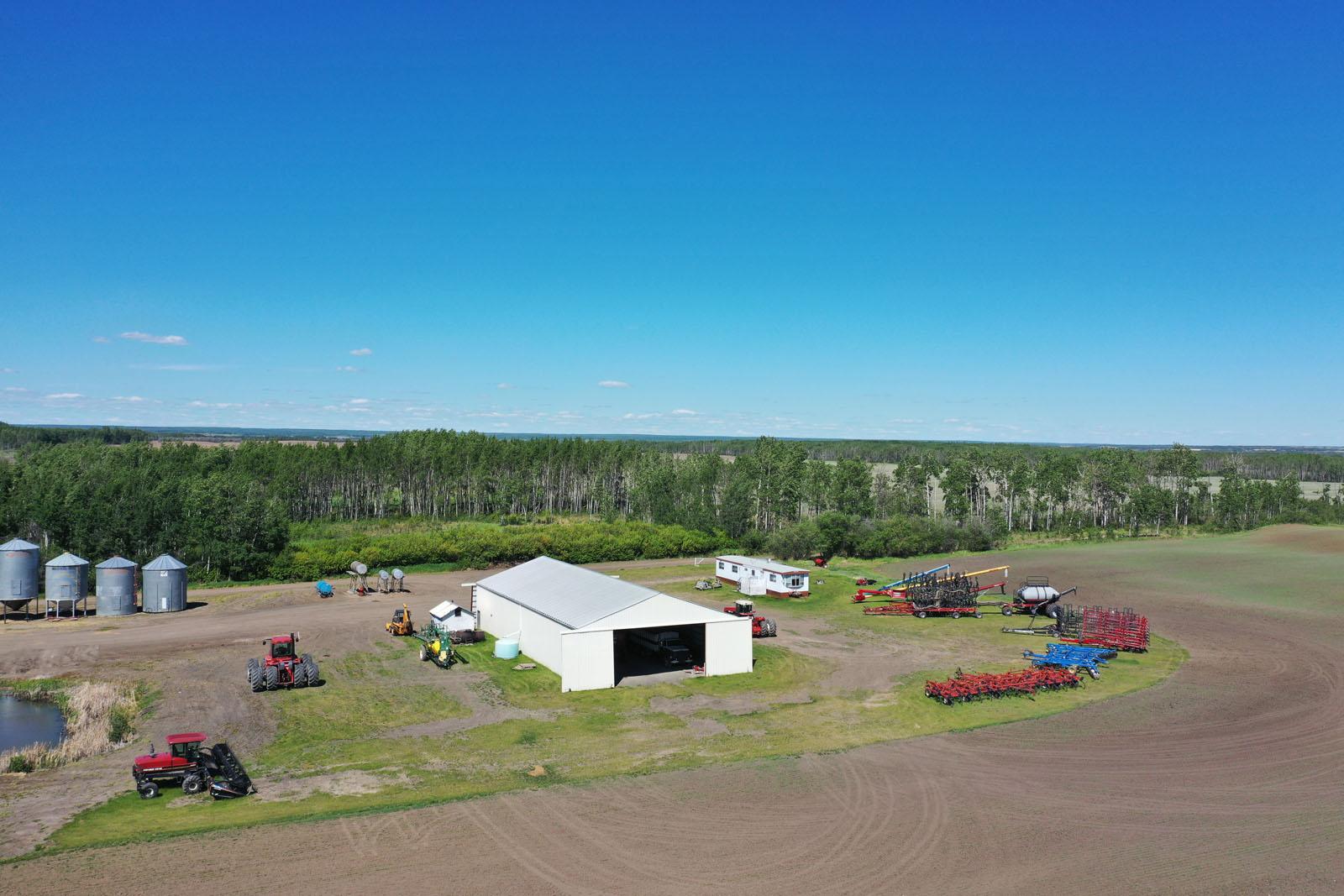 Fort st john grain farm 008