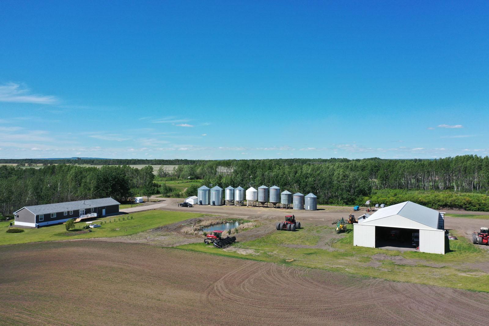 Fort st john grain farm 009