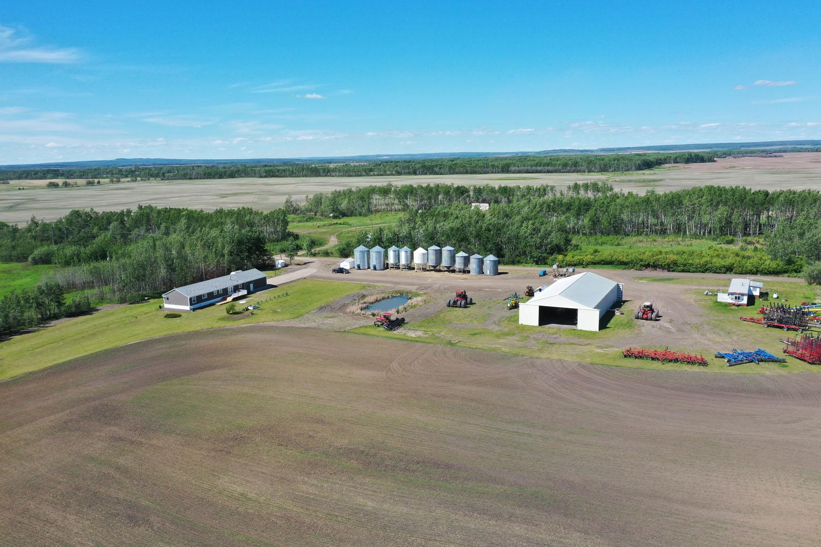 Fort st john grain farm 011