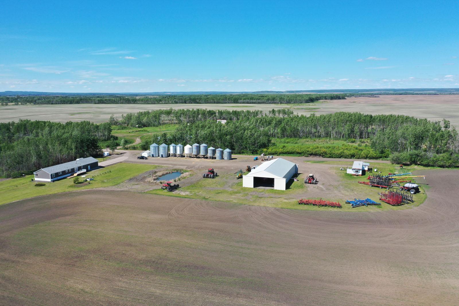 Fort st john grain farm 014