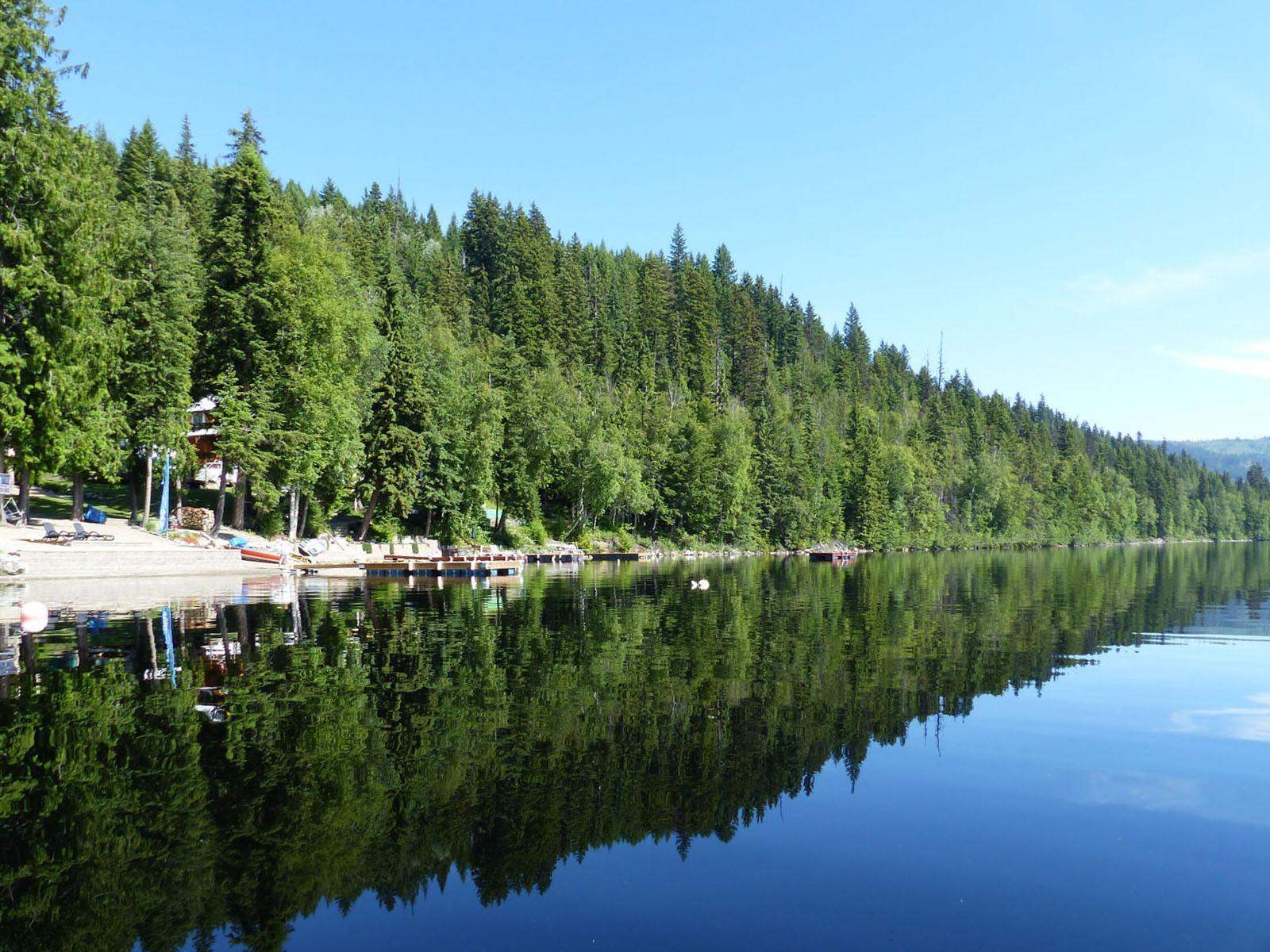 East barrier lake 10