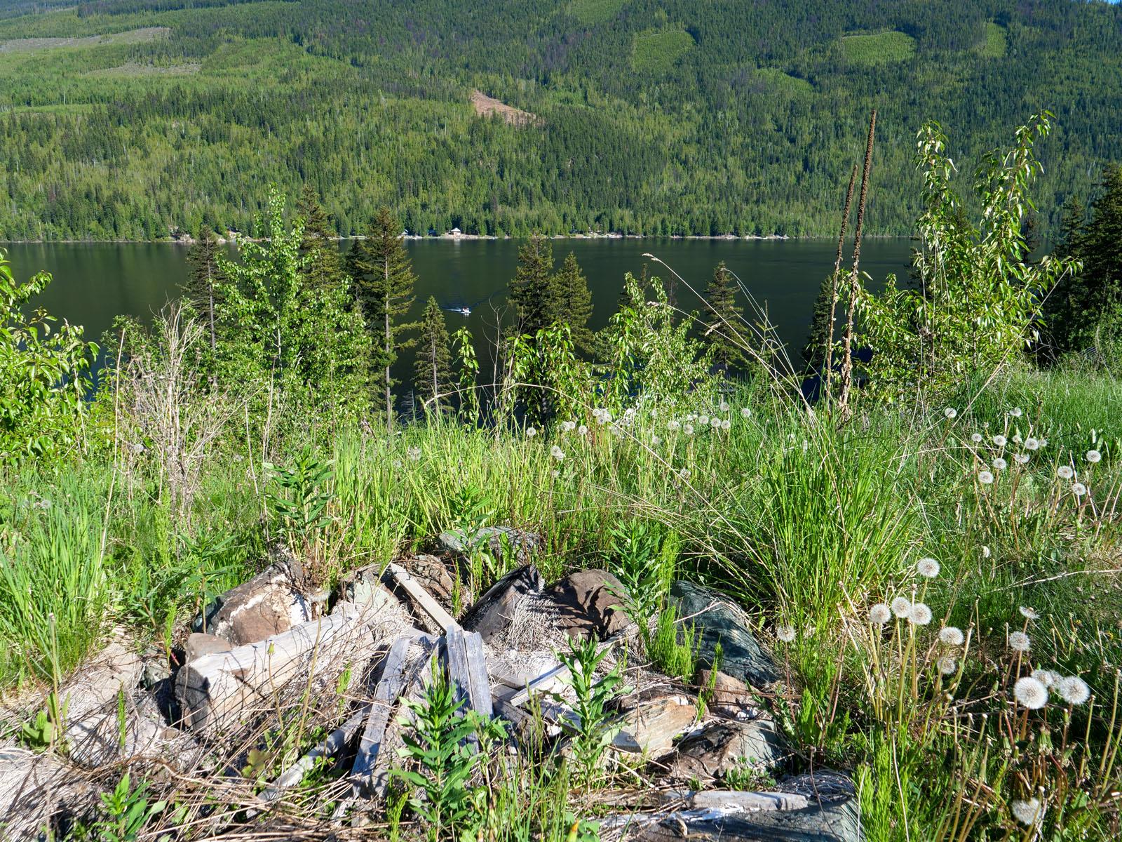 East barrier lake 12