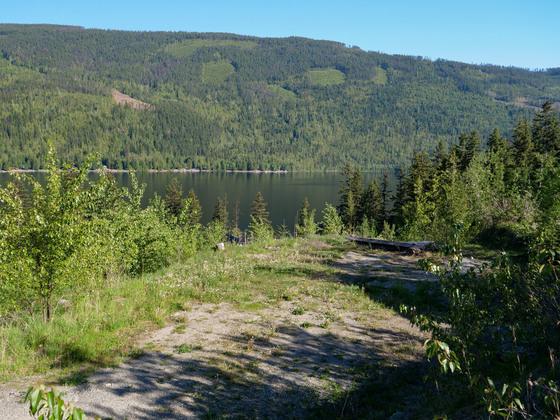 Thumb east barrier lake 13