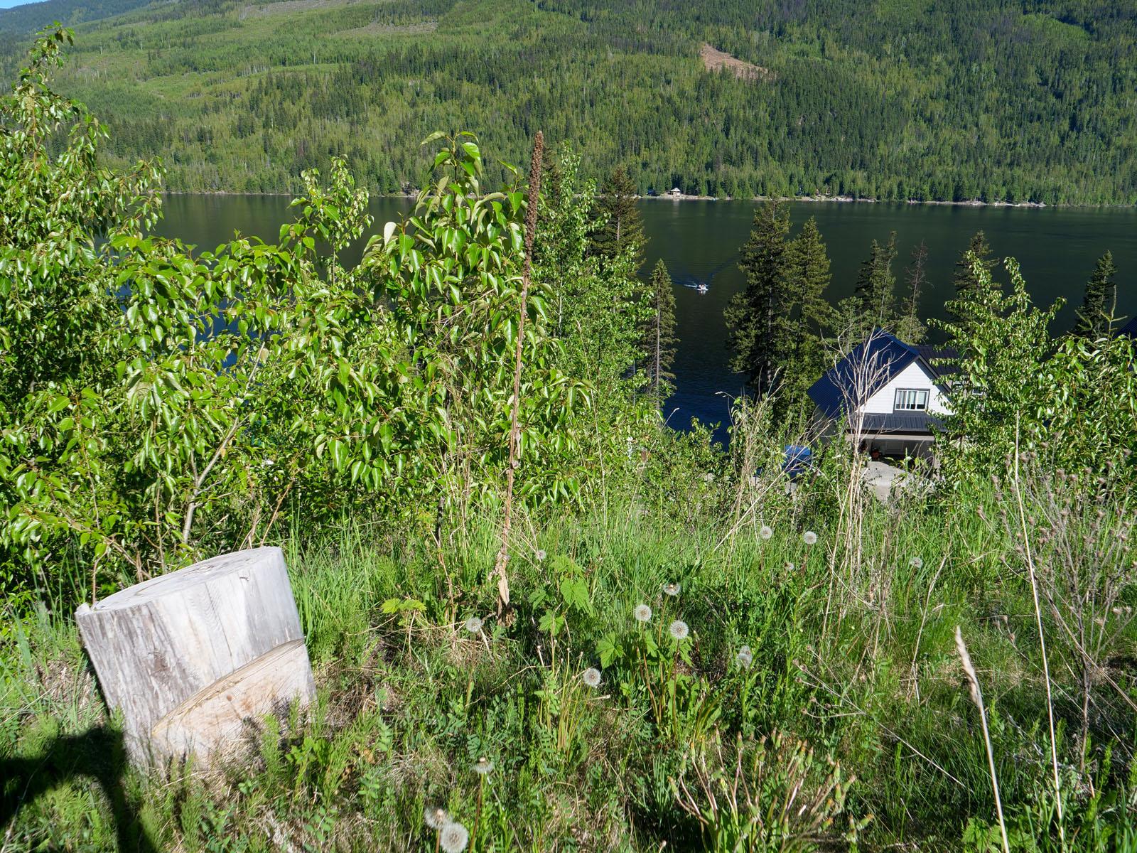 East barrier lake 16