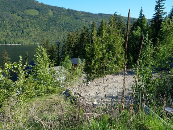 Thumb east barrier lake 17