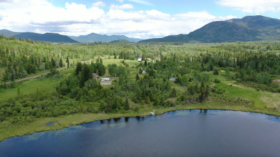 255 Recreational Acres with Frontage on the Private Roserim Lake - Mahood Falls, BC