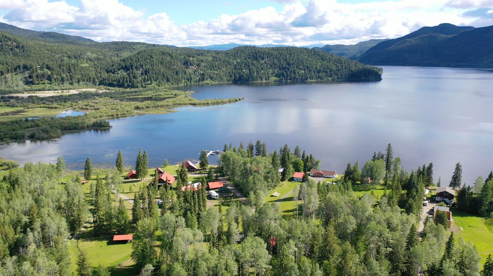 Canim lake resort 05