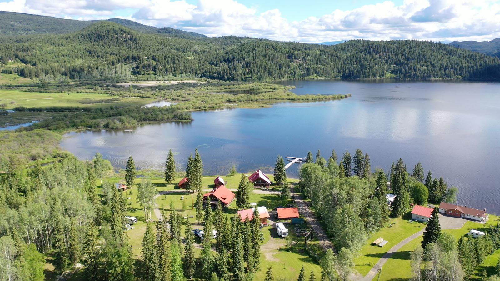 Canim lake resort 06