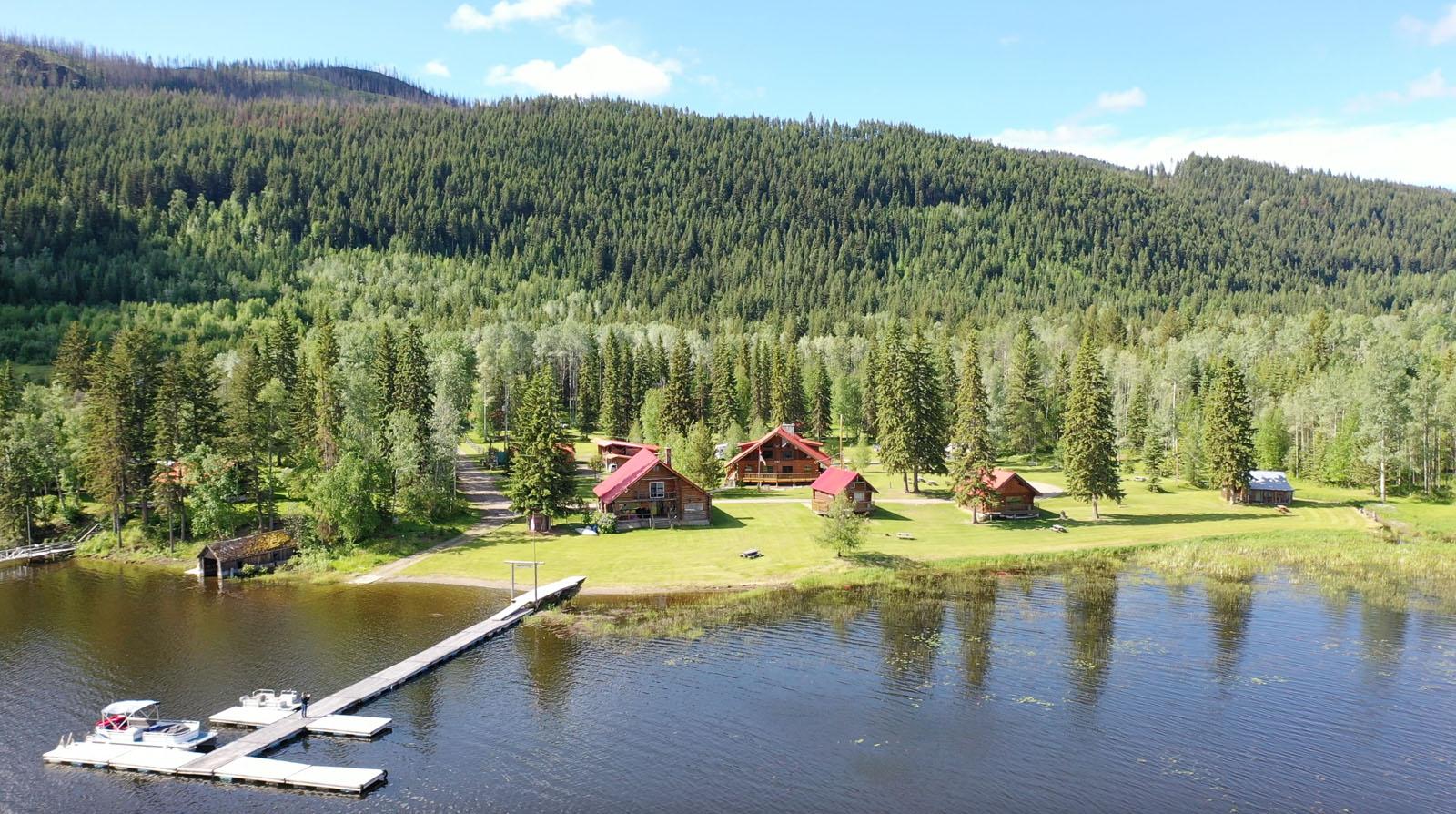 Canim lake resort 10