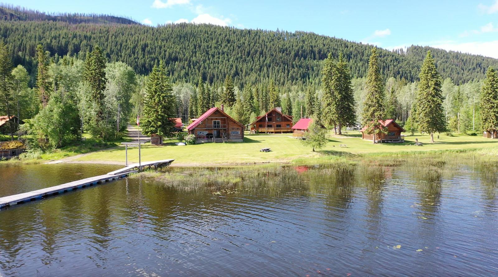 Canim lake resort 11