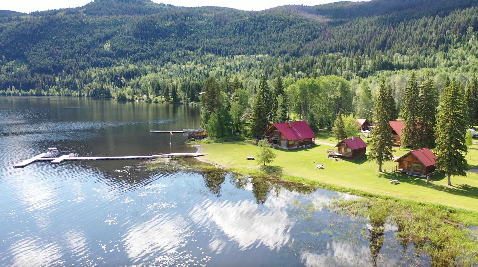 Canim lake resort 13