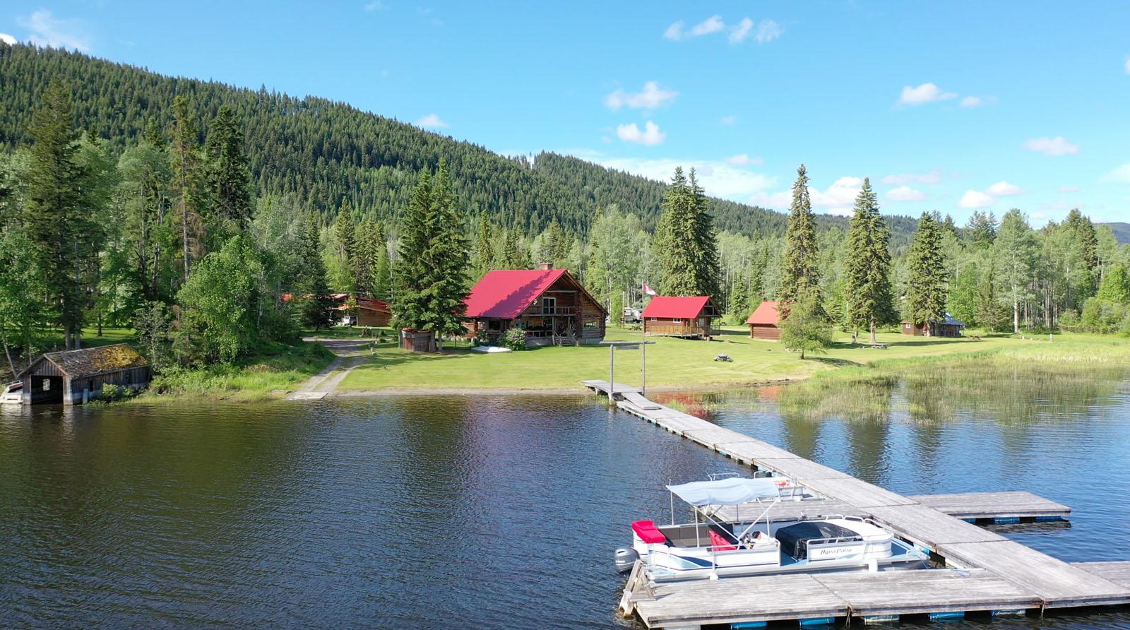 Canim lake resort 17
