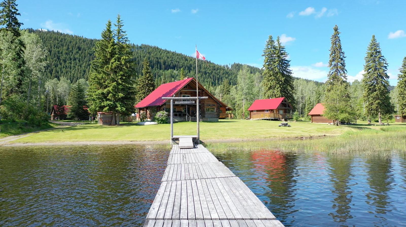 Canim lake resort 18