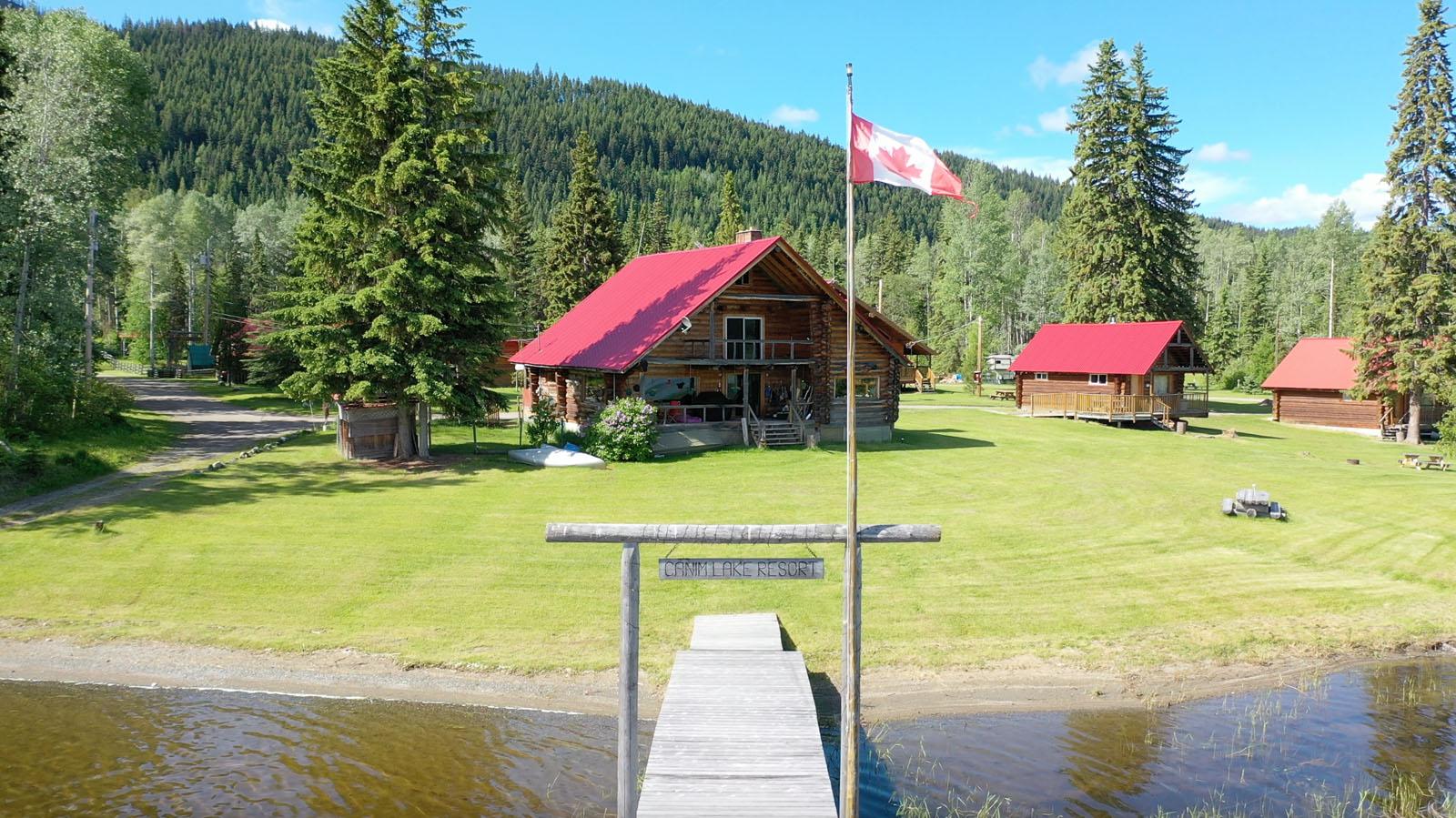 Canim lake resort 19