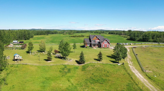 Gorgeous Country Home Situated on 304 Acres of Productive Farmland - Vanderhoof, BC