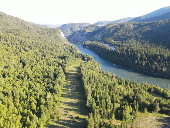 Sub-dividable Waterfront Wilderness Hideaway on the Pend-d'Oreille River - Nelway, BC