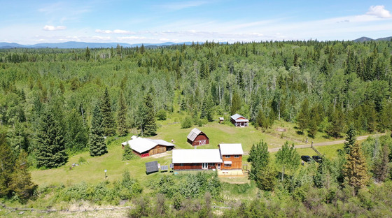 Live Self-Sustainably on this 160-Acre Off-grid Property - Horsefly, BC