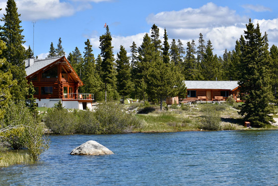 Luxury Log Home with Income Potential - Charlotte Lake