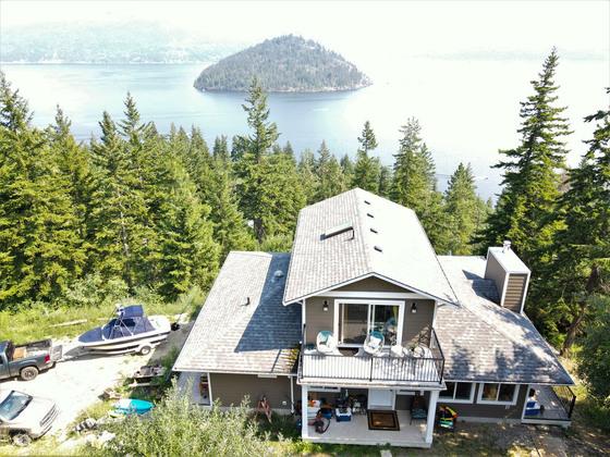 Shuswap Lake View Acreage with Subdivision Potential - Scotch Creek, BC