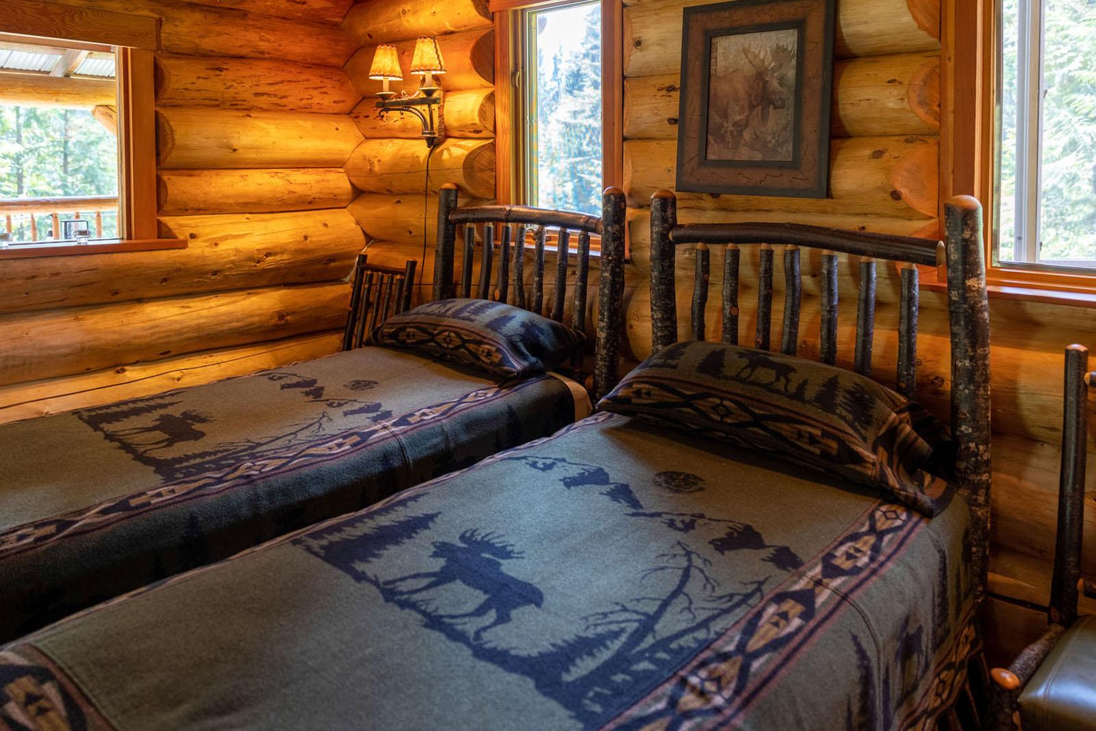 Mount robson log home 29