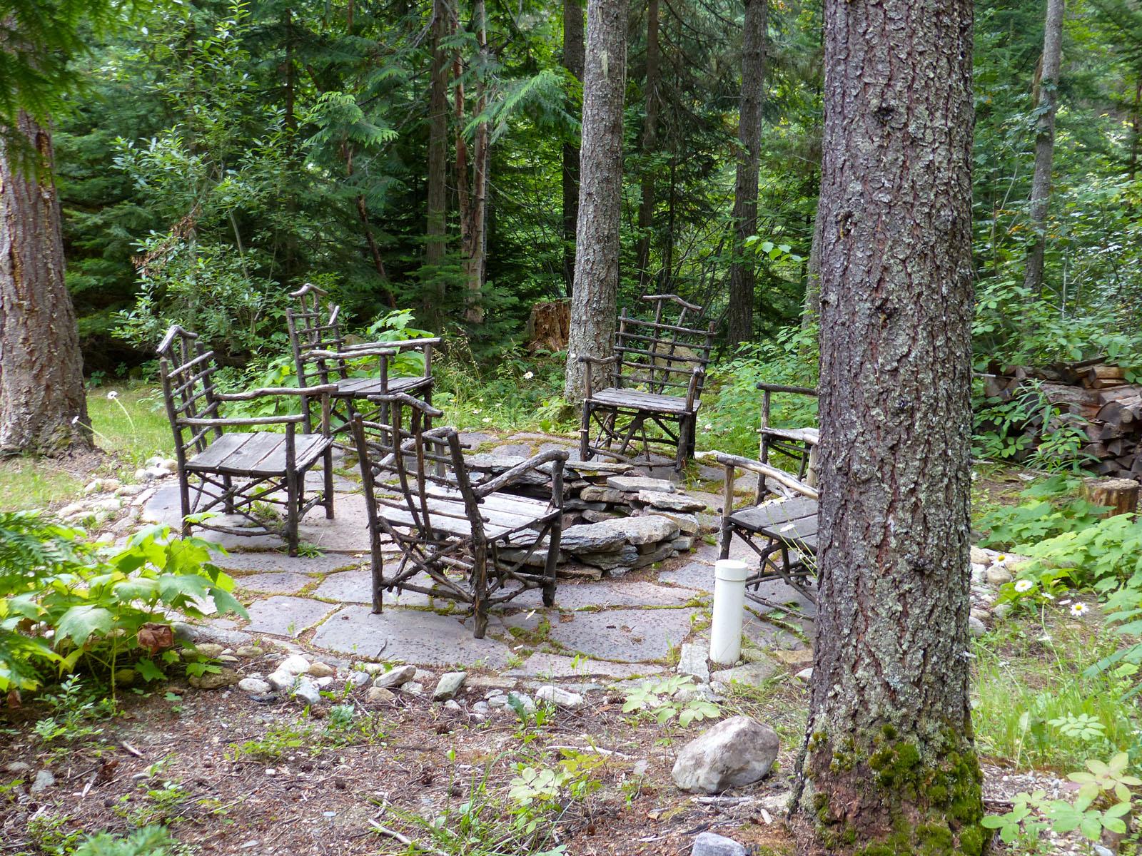 Mount robson log home 32