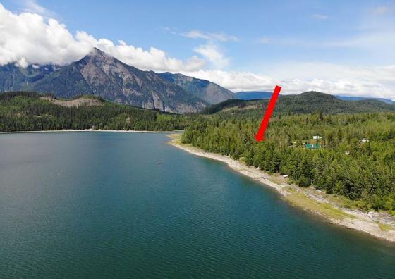 Serviced Lakefront Lot on Galena Bay - Upper Arrow Lake, BC