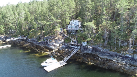 Nelson Island Oceanfront Cabin