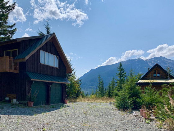 Off-Grid Retreat with Large Acreage and Breathtaking Views - Bella Coola, BC
