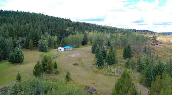 Private 25 Acre Parcel with Spring-Fed Pond Located 3 Minutes South of 100-Mile House, BC