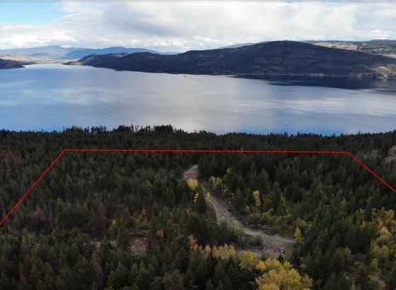 Forested Lake View Acreage - Westside of Okanagan Lake